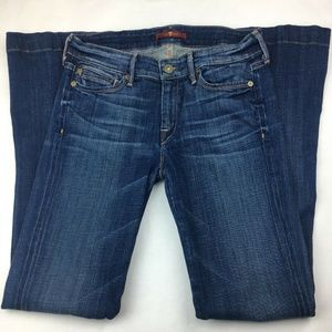 7 FOR ALL MANKIND Women Jeans Stretch Flare sz 27